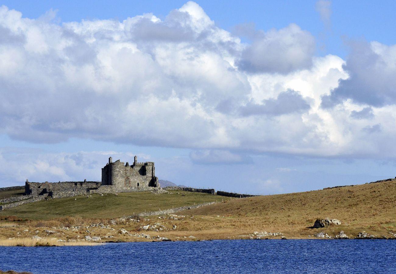 Clifden Castle in Connemara County Galway Ireland