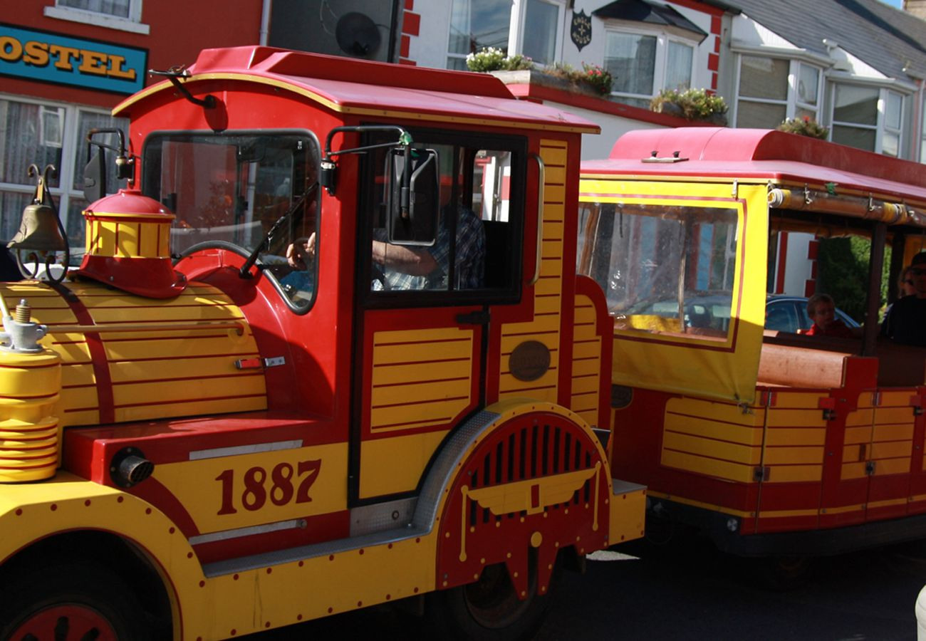 Fun train & activities for kids in Kilkee town County Clare, Ireland