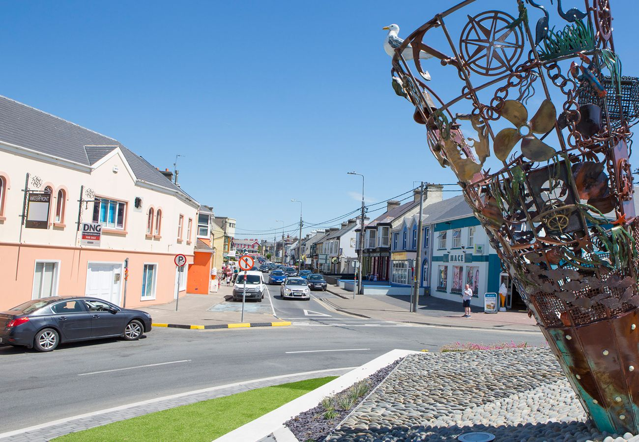 Kilkee town situated on Ireland's Wild Atlantic Way in County Clare