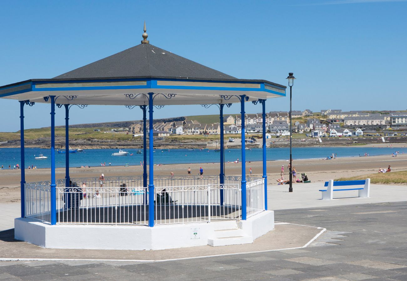 Bandstand & Promanade Kilkee situated on Loop Head in County Clare