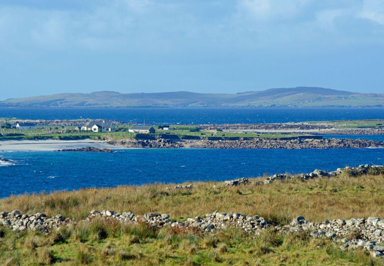 Beautiful Connemara Landscape Galway Ireland