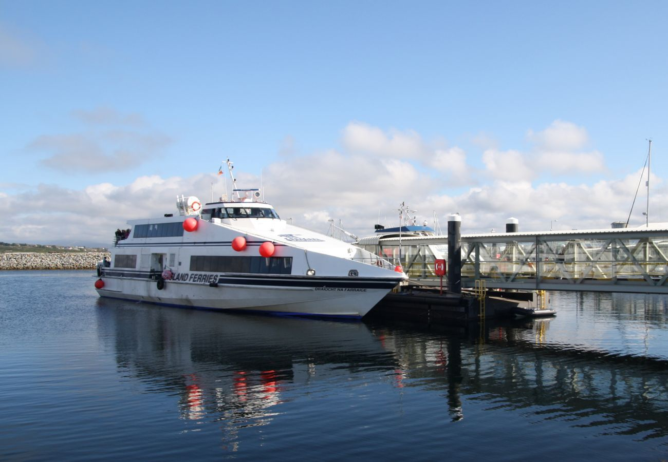 Ferry to the Aran Islands in County Galway image Tourism Ireland
