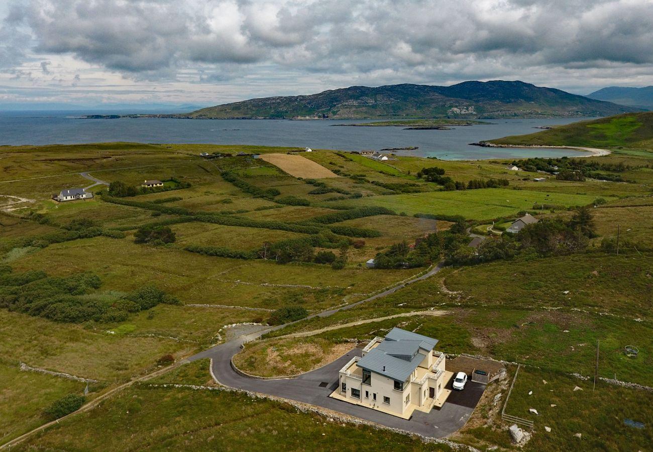 Ballynew Holiday Home, Modern, Coastal Holiday Home in Moyard, Connemara, County Galway