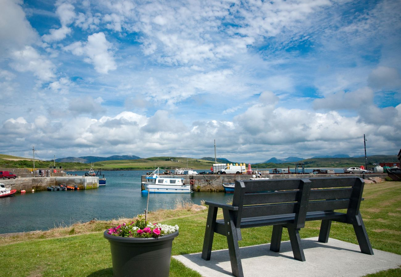 Cleggan Pier in Connemara County Galway Ireland