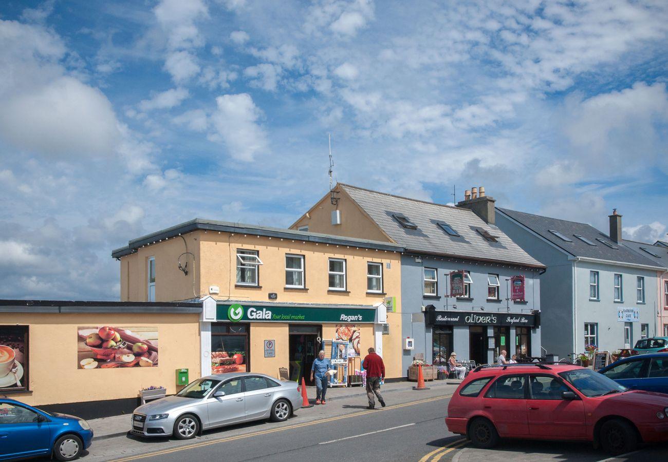 Cleggan Village, Connemara, County Galway