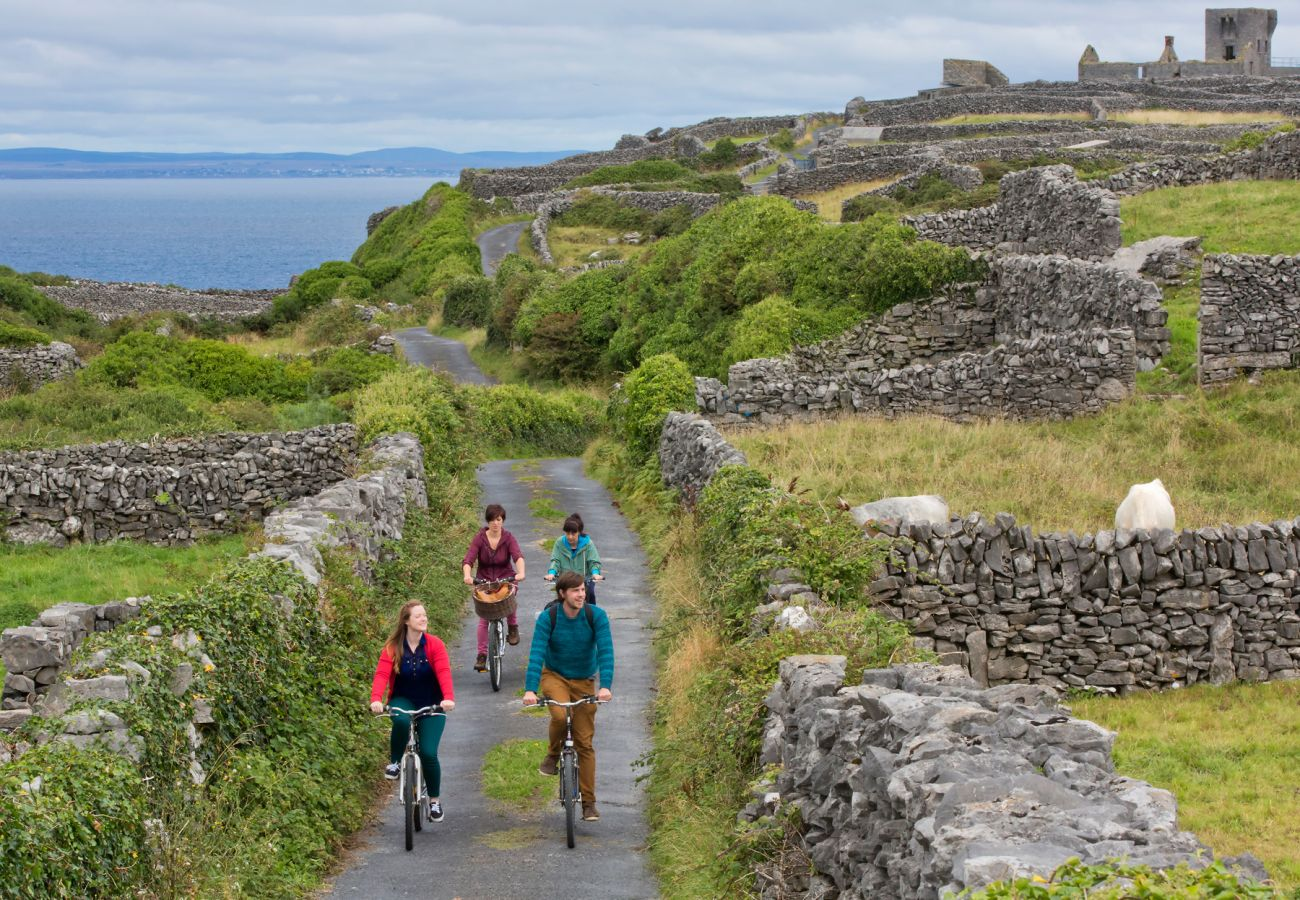 Cycling on the Aran Islands County Galway image Tourism Ireland