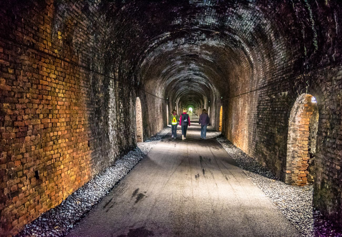 Waterford Greenway Ballyvoyle Tunnel Waterford | Trident Holdiay Homes | © Failte Ireland