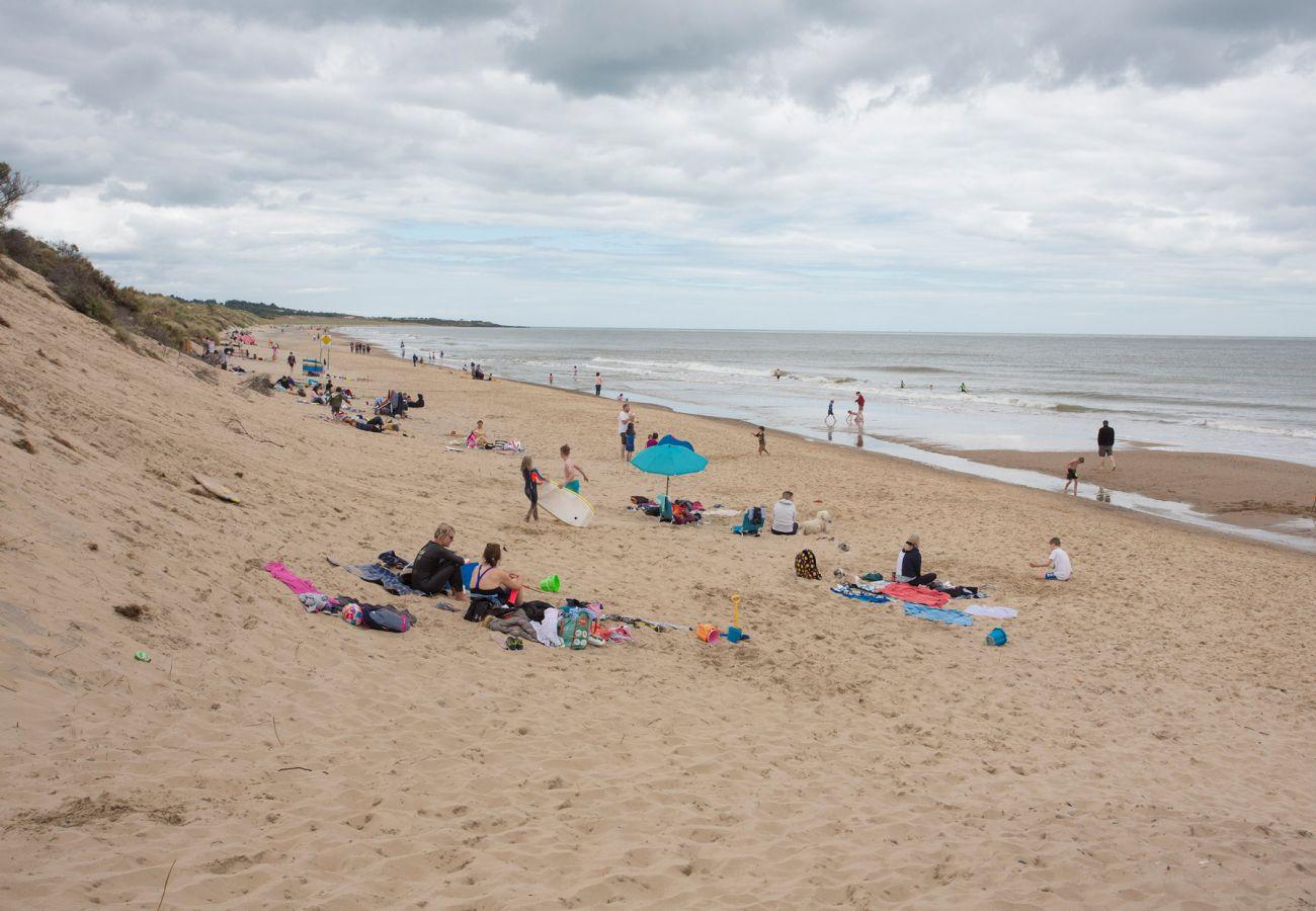 Brittas Bay Beach, County Wicklow