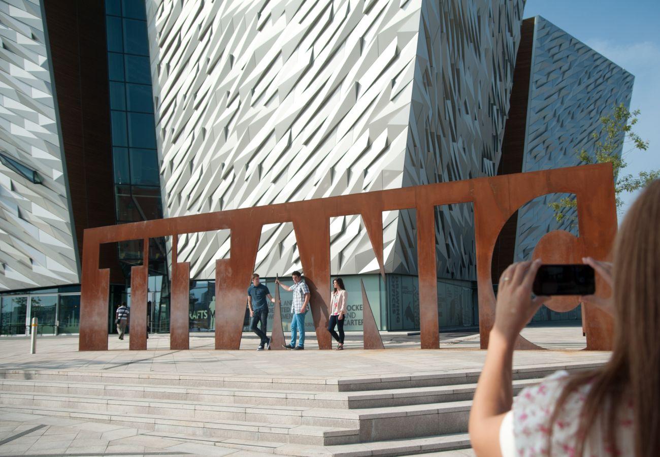 Titanic Experience, Belfast City,  © Tourism Ireland