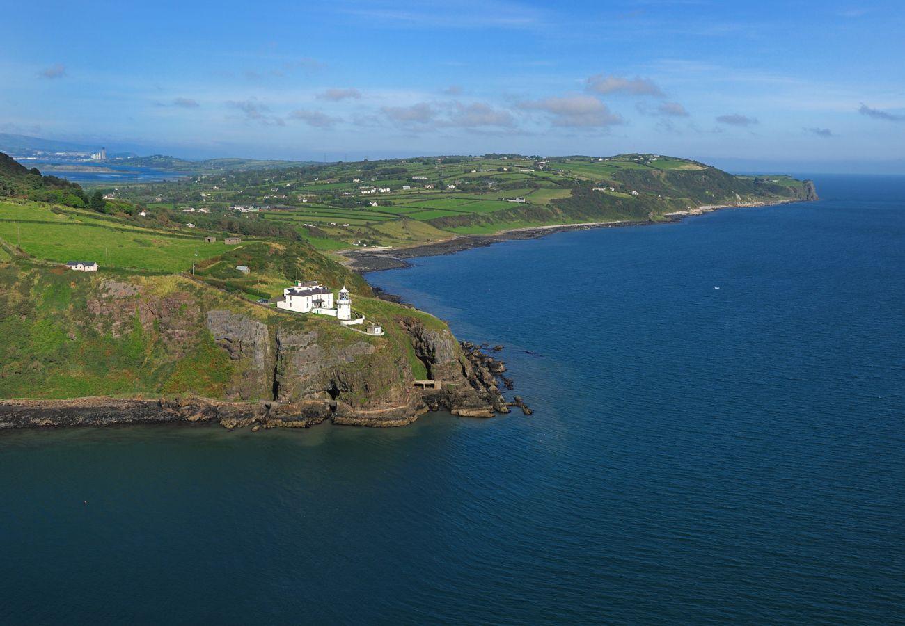 Blackhead Lighthouse & Gobbins View Antrim Belfast View © Robert Thompson Photography