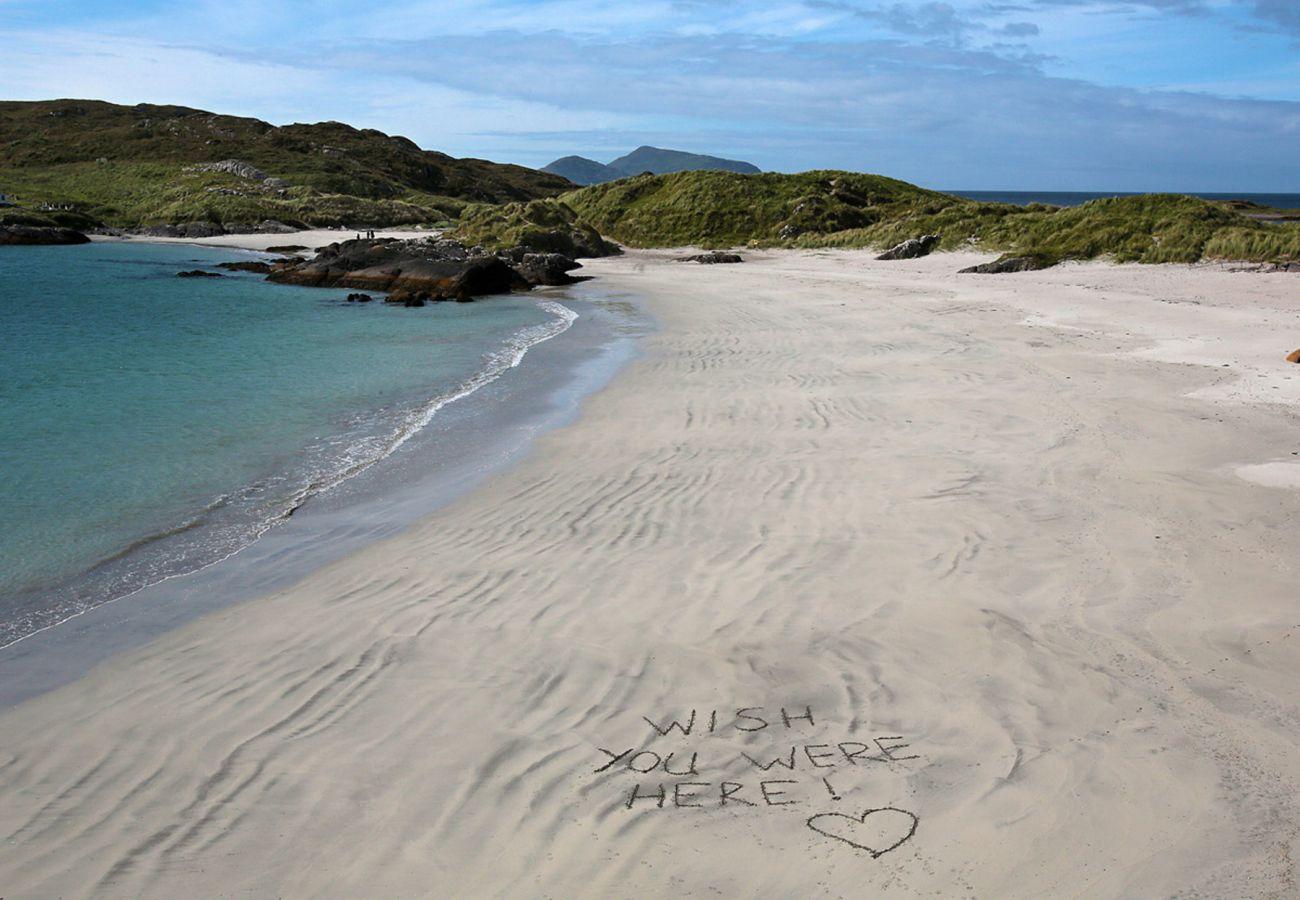Derrynane Blue Flag Beach, Caherdaniel, County Kerry, Ireland