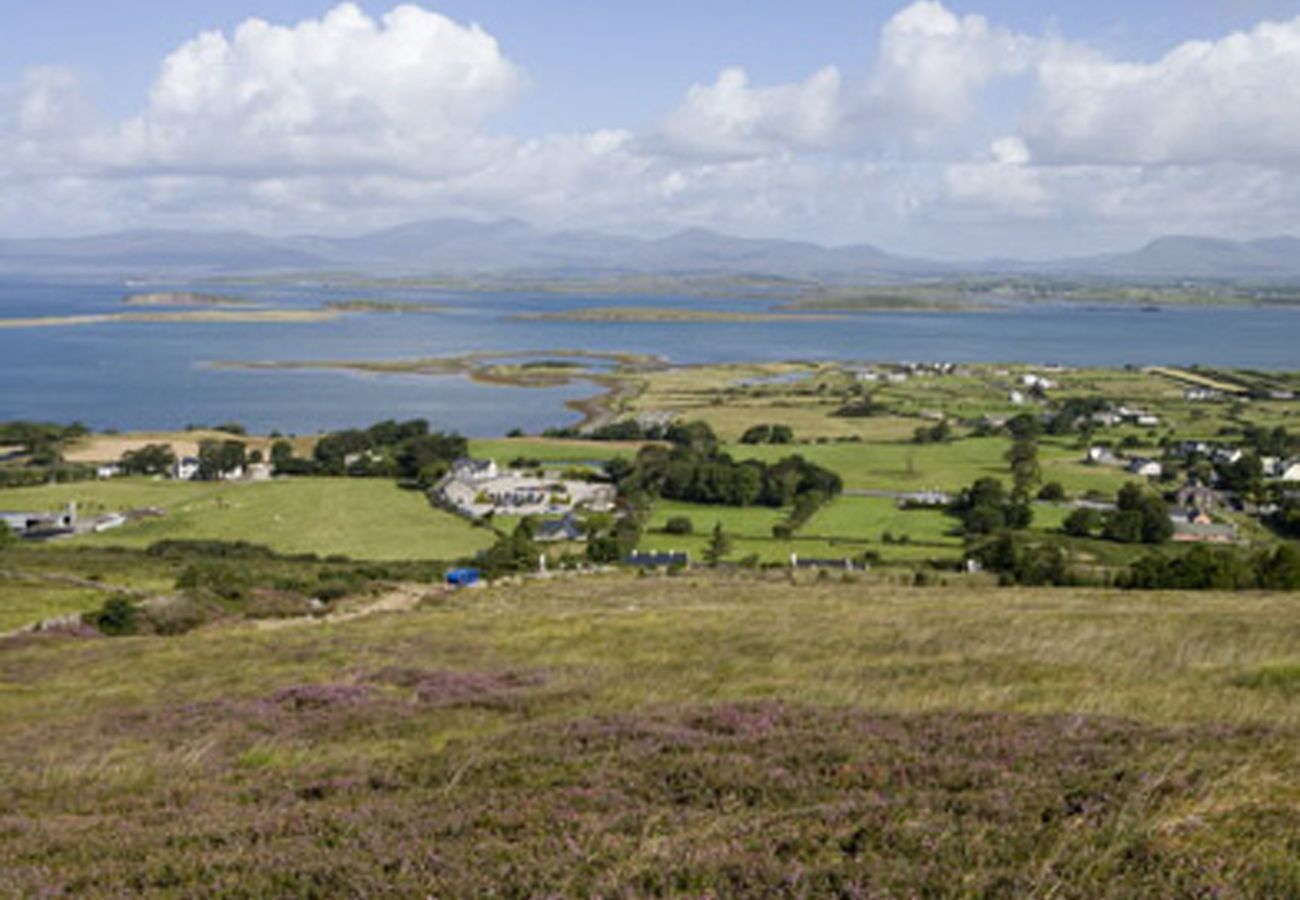 View from Croagh Patrick, County Mayo