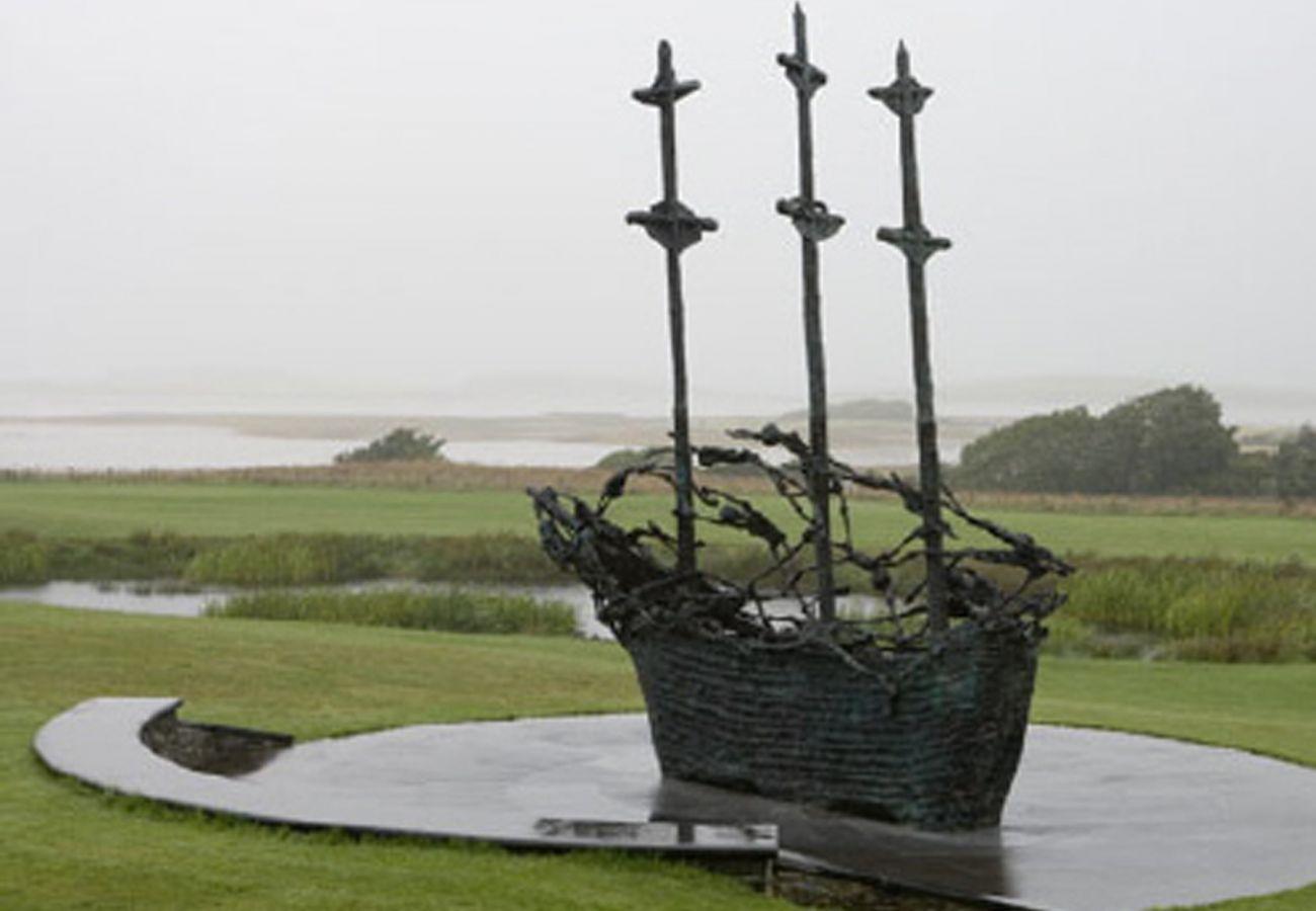 Famine Memorial, County Mayo, Ireland