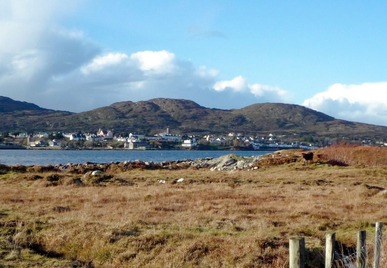 Picturesque  village of Roundstone, County Galway