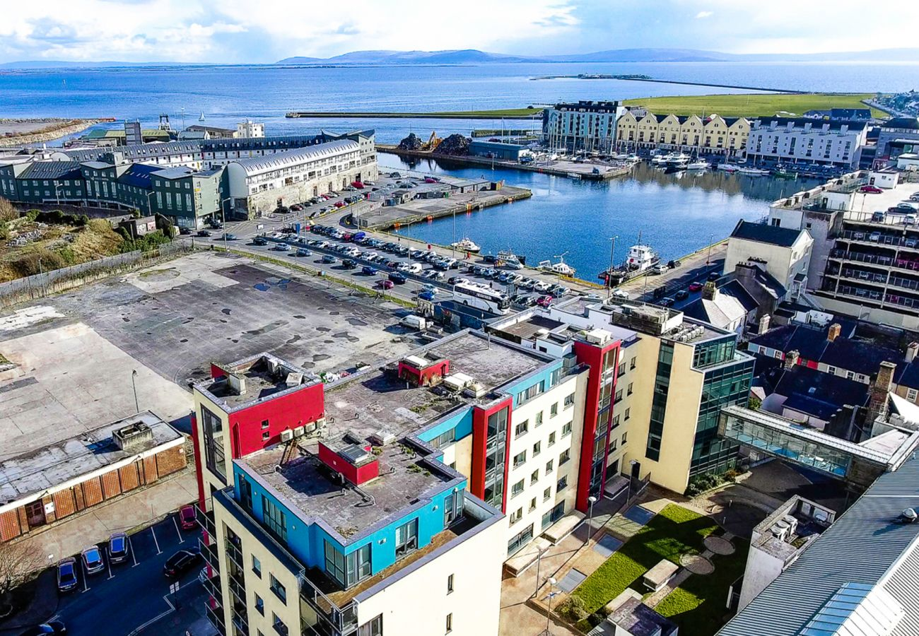 Side of Barr Taoide and The Galway Docks