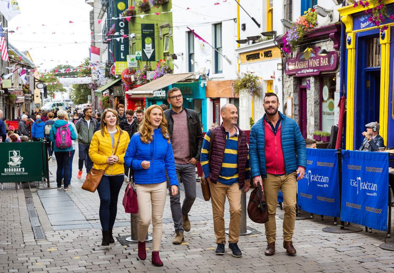 Quay Street, Galway City, County Galway © Failte Ireland 2018