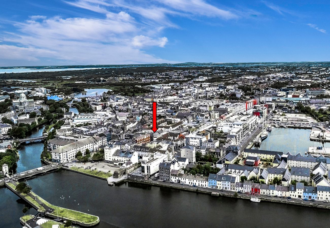 Top of the City Aerial View, Galway City, County Galway