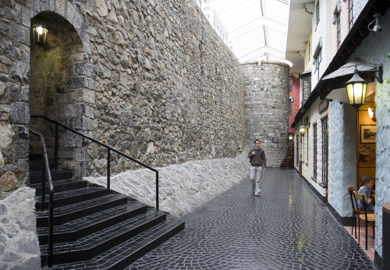 Galway City Walls Eyre Square Centre © Tourism Ireland & Failte Ireland