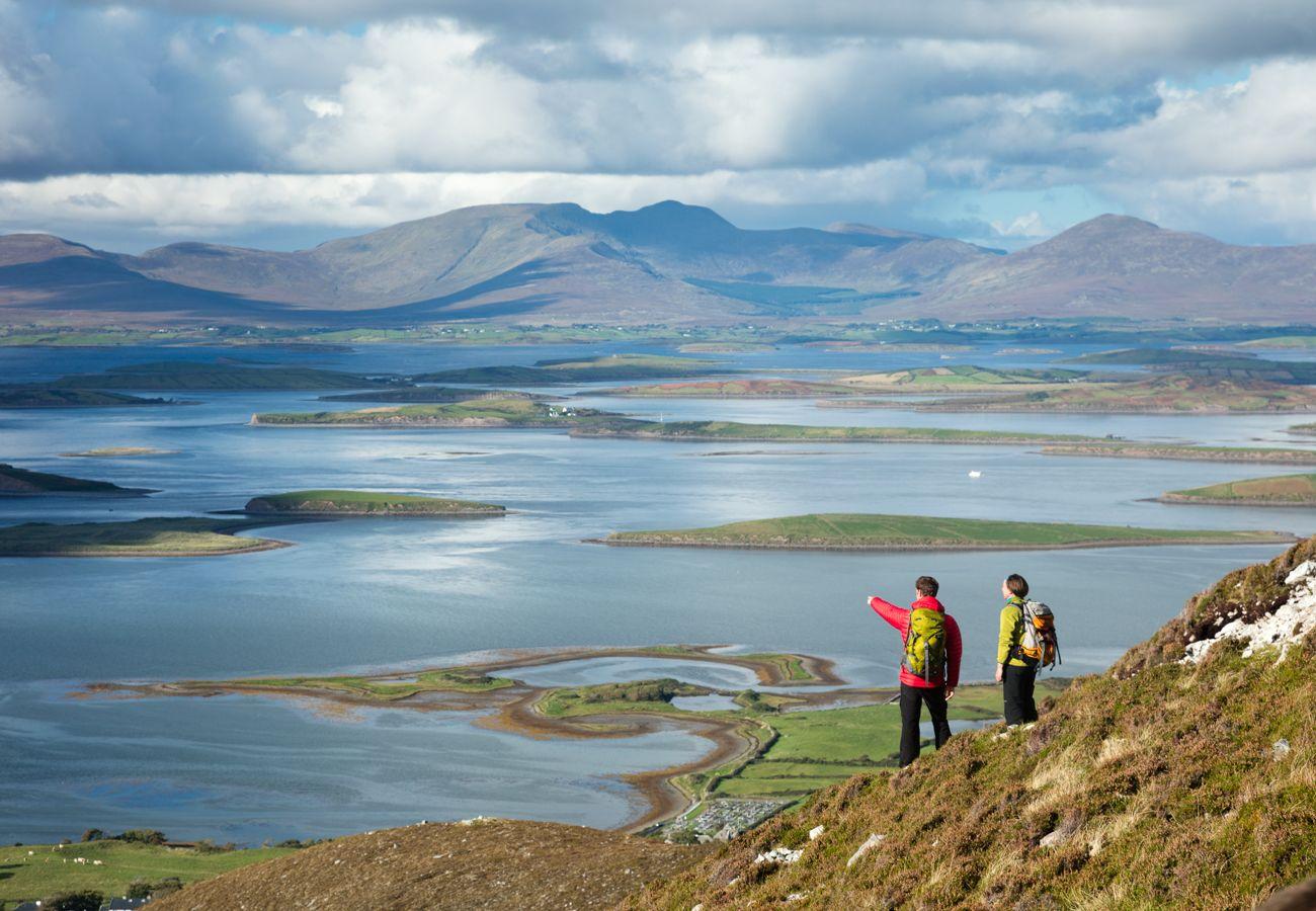 Croagh Patrick, Clew Bay, County Mayo © Failte Ireland Tourism Ireland