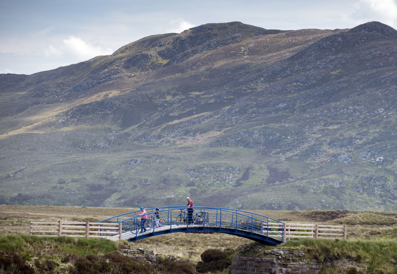 Views of the Great Western Greenway Westport to Achill Island County Mayo © Failte Ireland