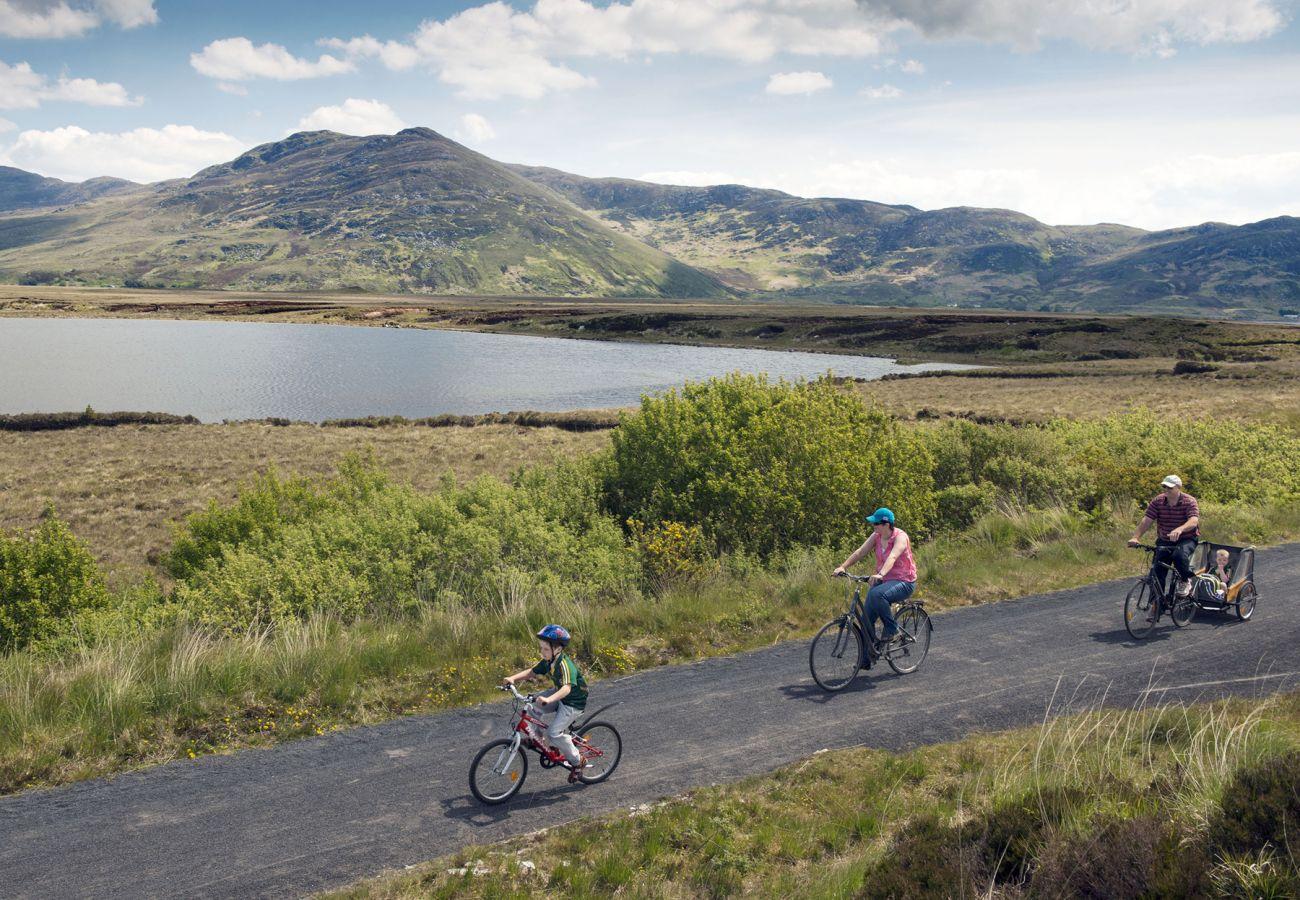 The Great Western Greenway Westport to Achill Island County Mayo © Failte Ireland
