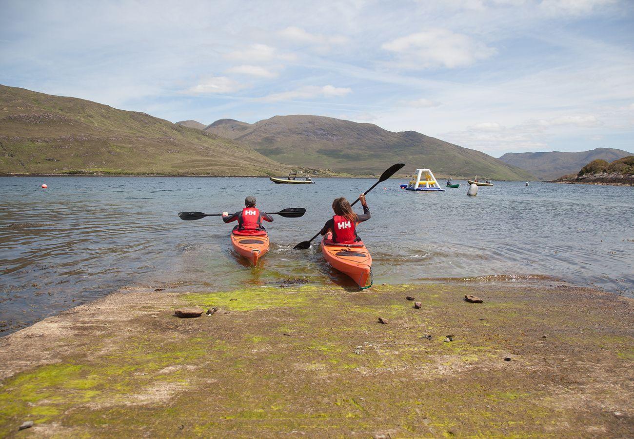 Bay Coast Killery Harbour Kayaking Galway © Tourism Ireland and Failte Ireland