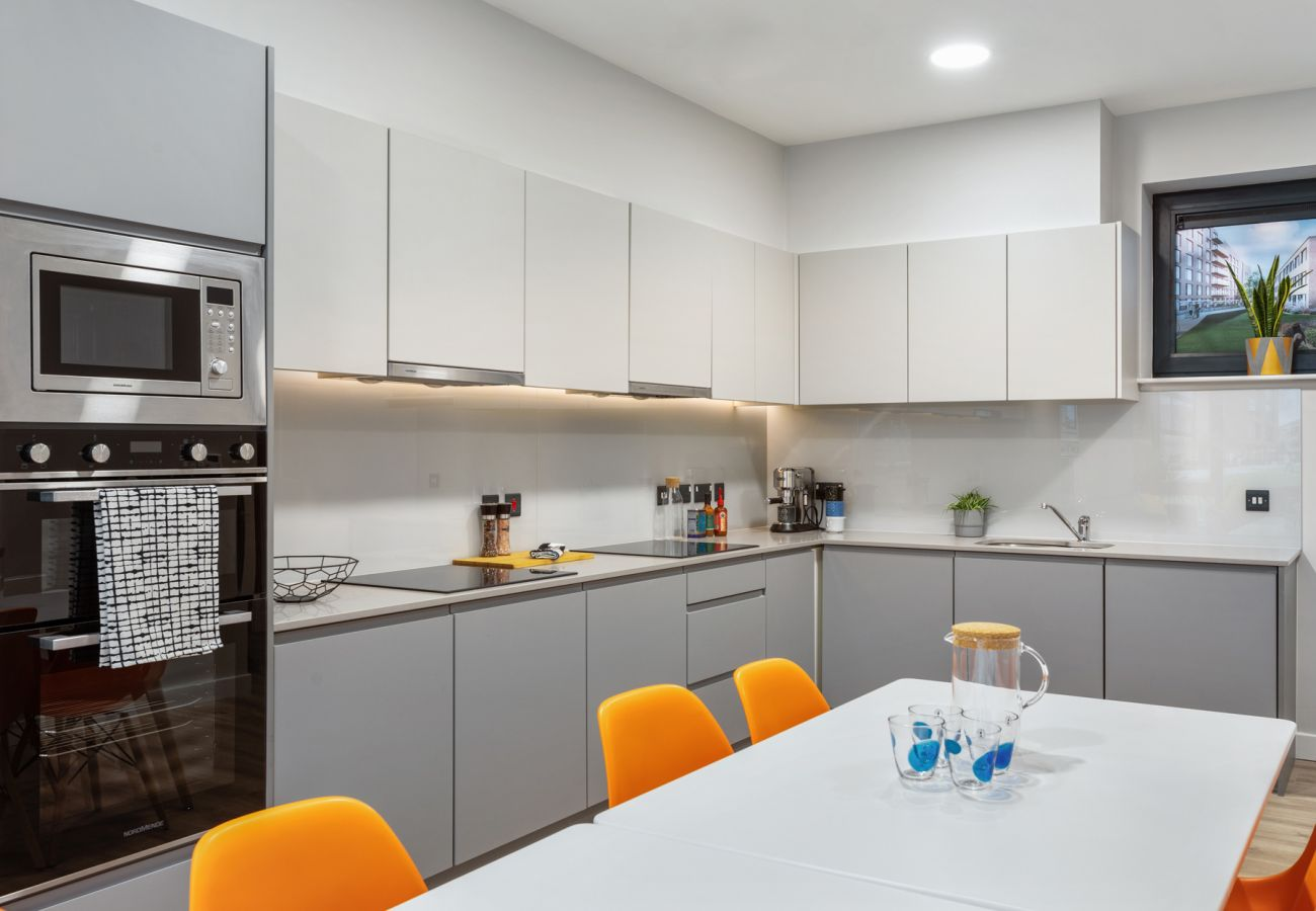 Chic and Modern Highfield House, Self-Catering Apartment in Drumcondra, County Dublin
