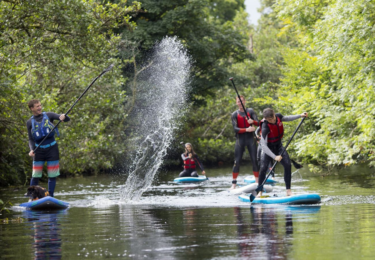 Group Stand Up Paddle Boarding Lough Derg KillaloeCo Clare Clare County Council