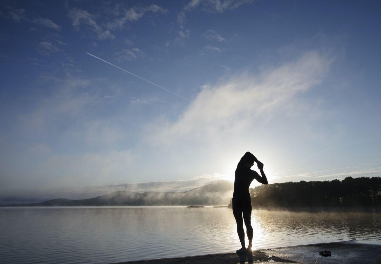 Swimmer, Lough Derg, Killaloe Co Clare © Clare County Council