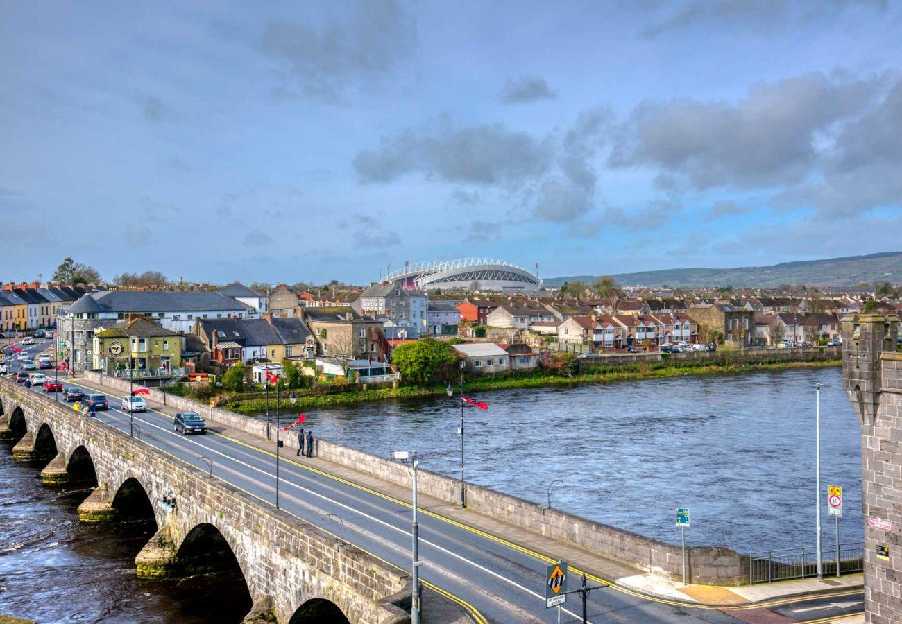 View from King John's Castle, Limerick, County Limerick © Fáilte Ireland & Tourism Ireland