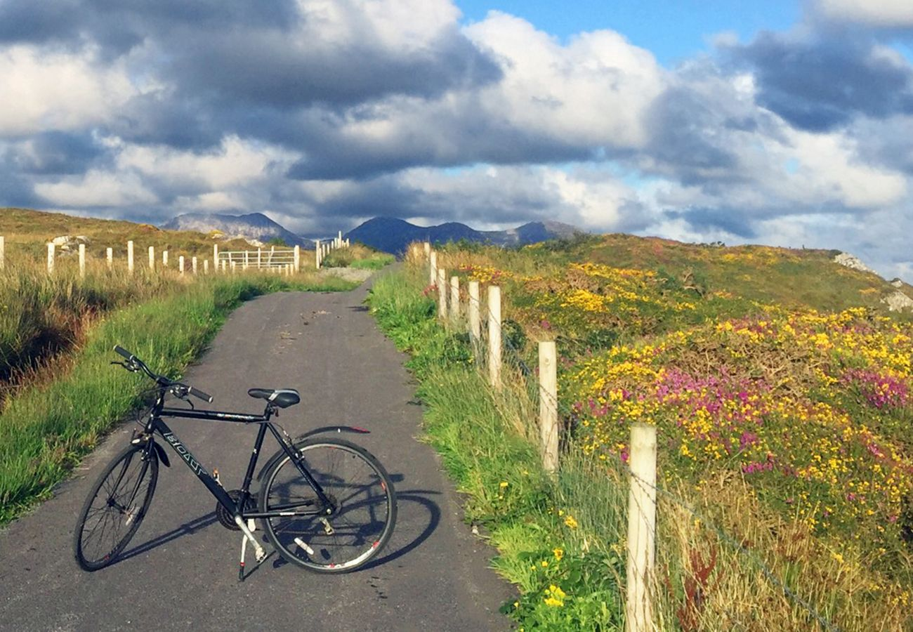 Cycling in Connemara, County Galway