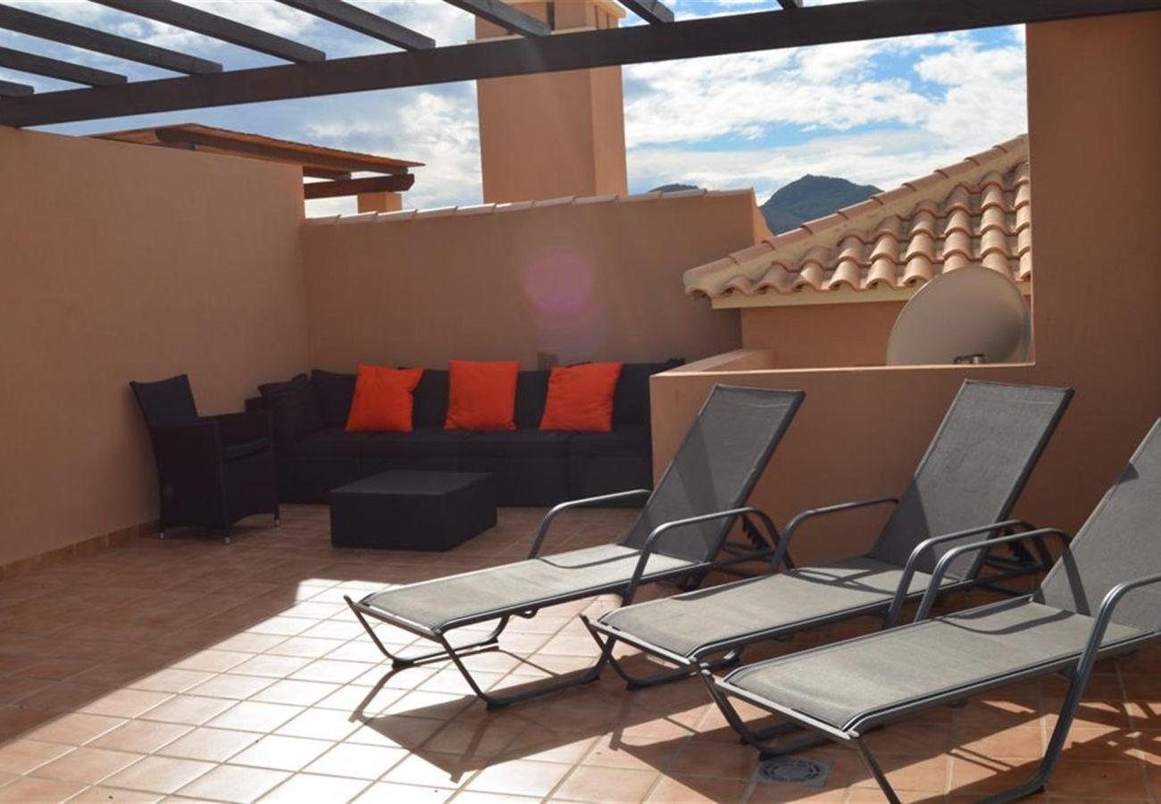 Roof terrace well equipped with relaxation chairs - Resort Choice