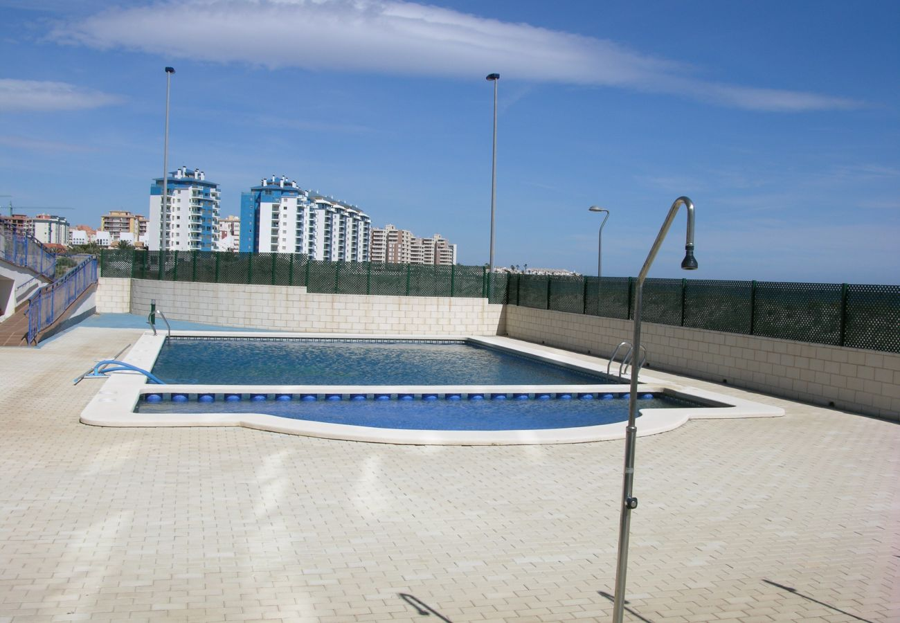 Beautiful swimming pool of Libertad Dos Playas apartment