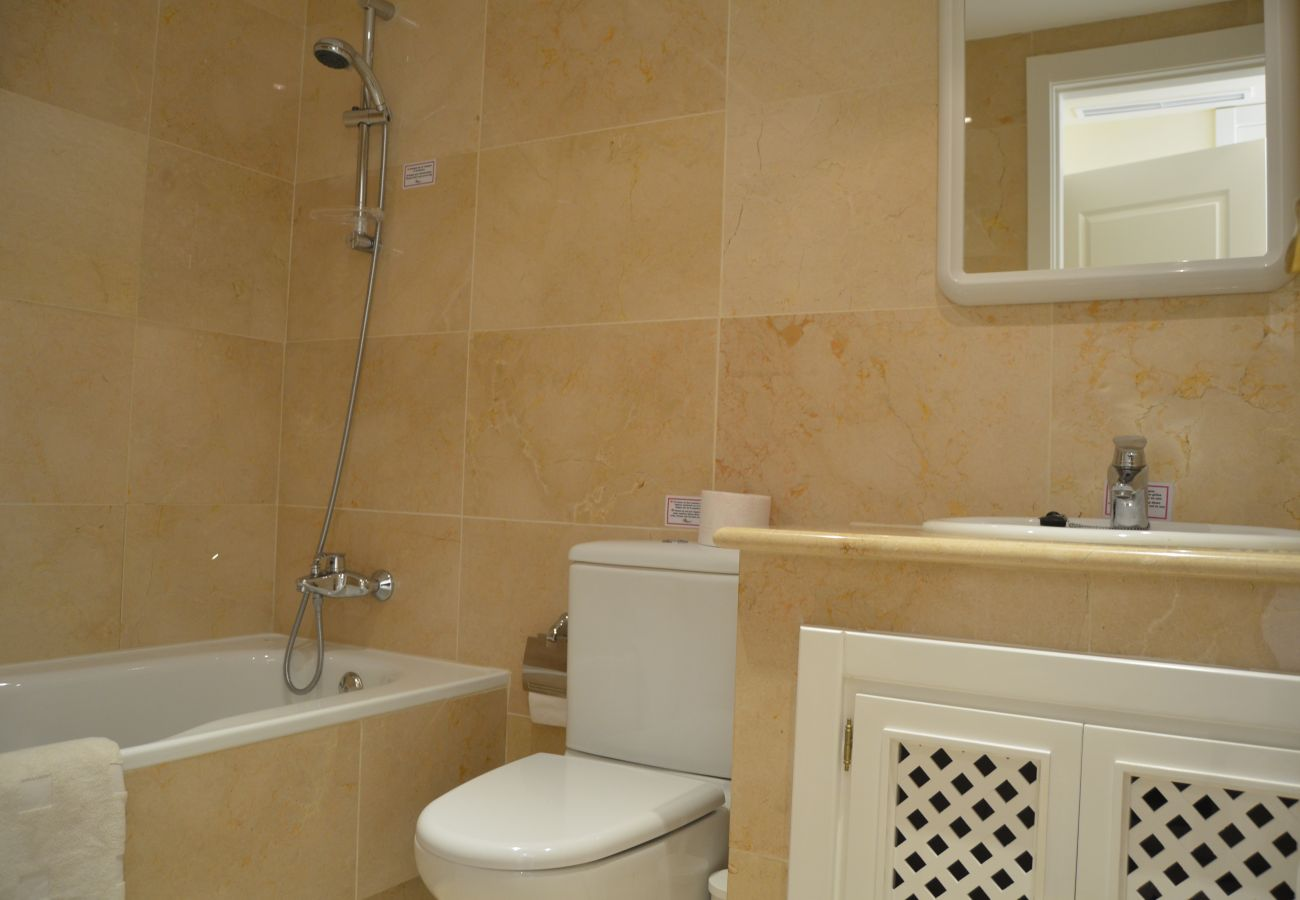 Fully Equipped Bathroom of Roda Golf Resort