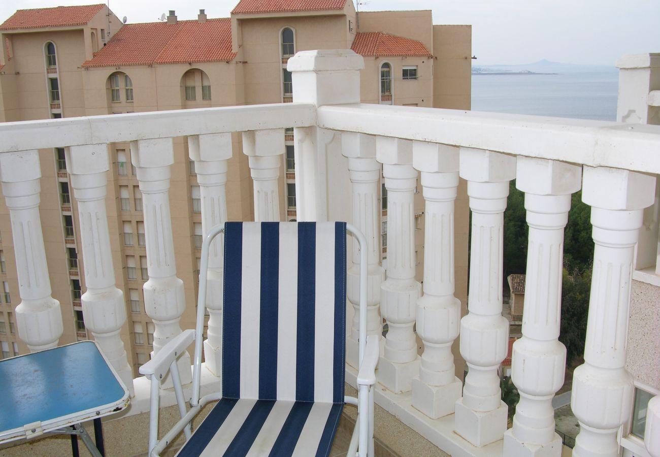 Spacious balcony with sitting area - Resort Choice