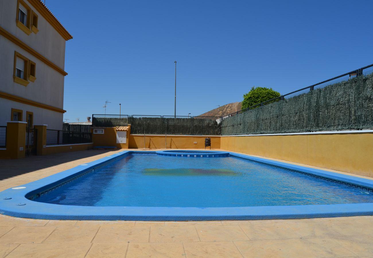 Specious Swimming Pool of Ribera Golf Apartment
