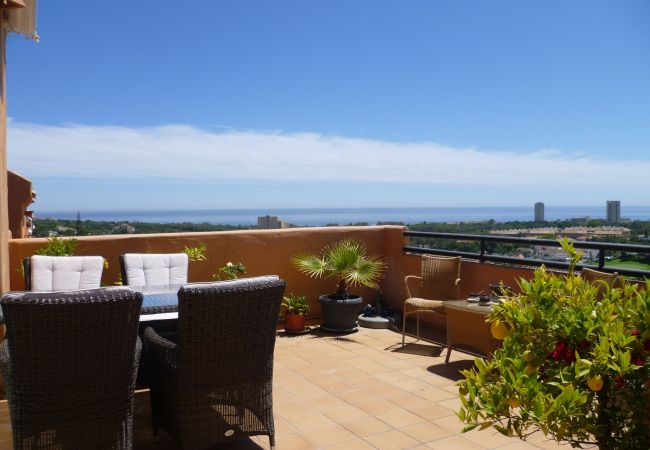 Apartment in Marbella - 6930 - Penthouse with great views near beach
