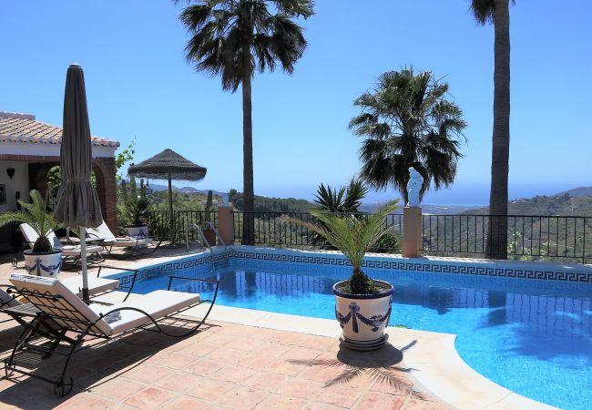 Villa in Frigiliana - Cortijo La Palmera, Frigiliana - R8708