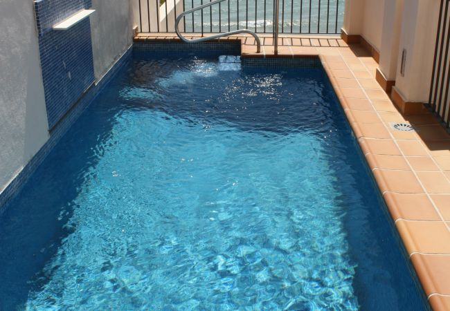 Apartment in Estepona - 122 - Frontline Penthouse with private pool